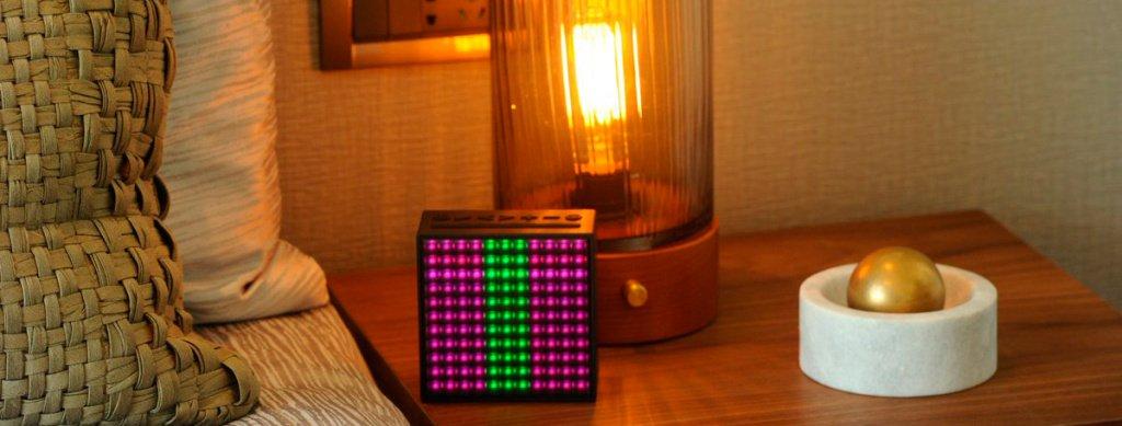 Портативная акустика с дисплеем Divoom Timebox Evo Portable Speaker Wireless Bluetooth Pixel Art 3