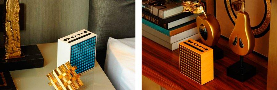 Портативная акустика с дисплеем Divoom Timebox Evo Portable Speaker Wireless Bluetooth Pixel Art 4