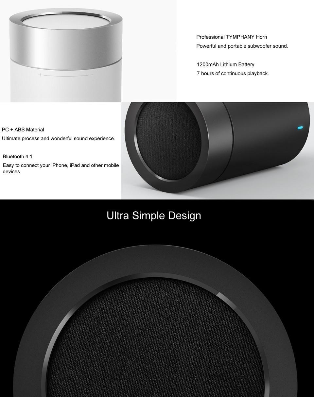 Портативная акустика Xiaomi Mi Pocket Speaker 2 Black 3