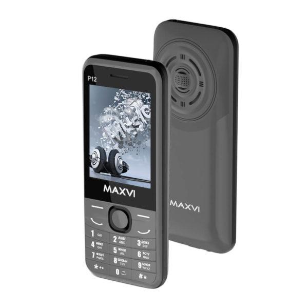Мобильный телефон MAXVI P12 (grey)