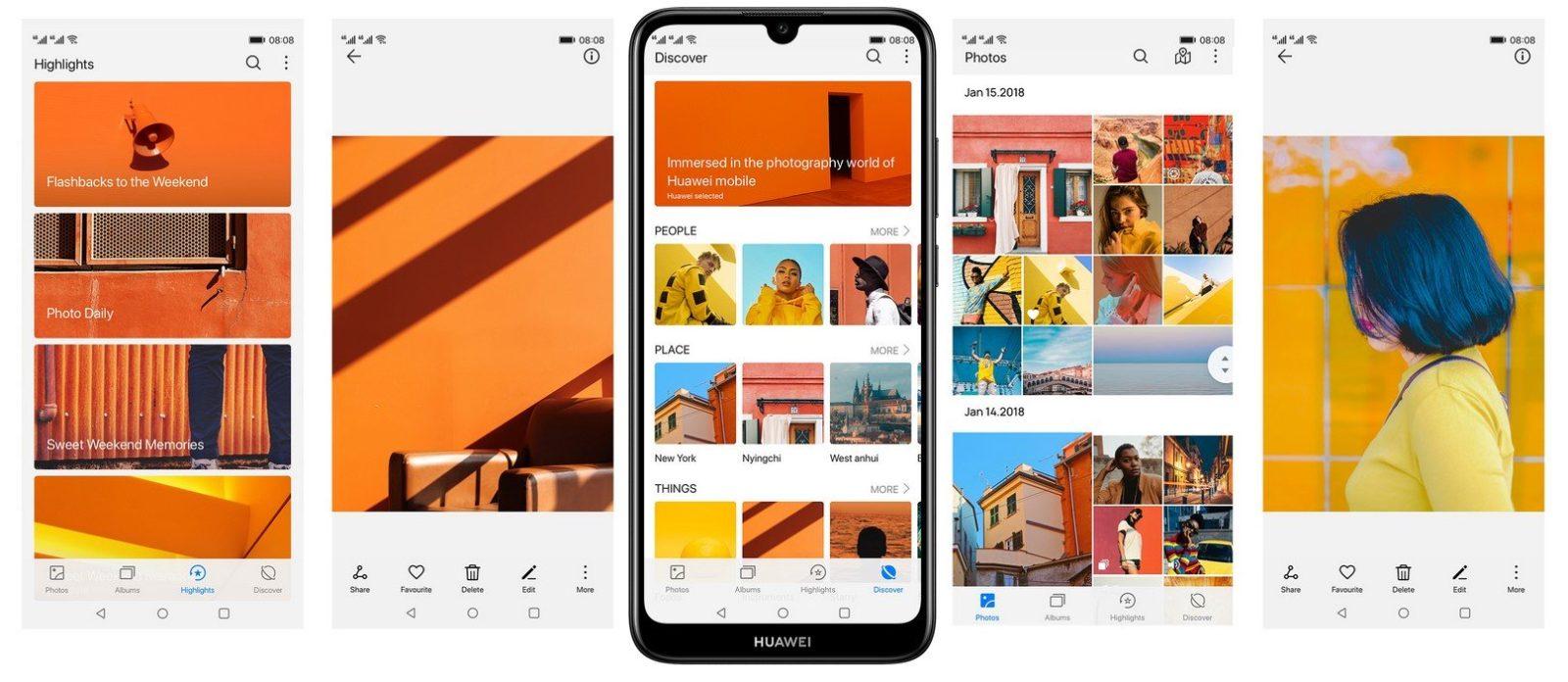 Смартфон Huawei Y6 2019 10