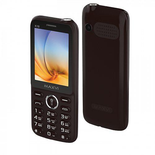 Мобильный телефон MAXVI K18 Brown 1