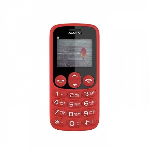 Мобильный телефон MAXVI B1 (red) 1