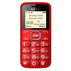 Мобильный телефон MAXVI B2 (red)