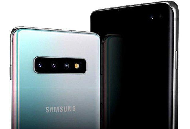 Смартфон Samsung S10+ 5