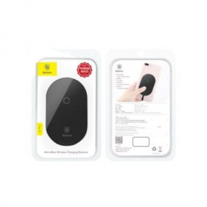 Приёмник беспроводной зарядки Baseus Microfiber Wireless Charging Receiver (Lightn) (Black) WXTE-A01