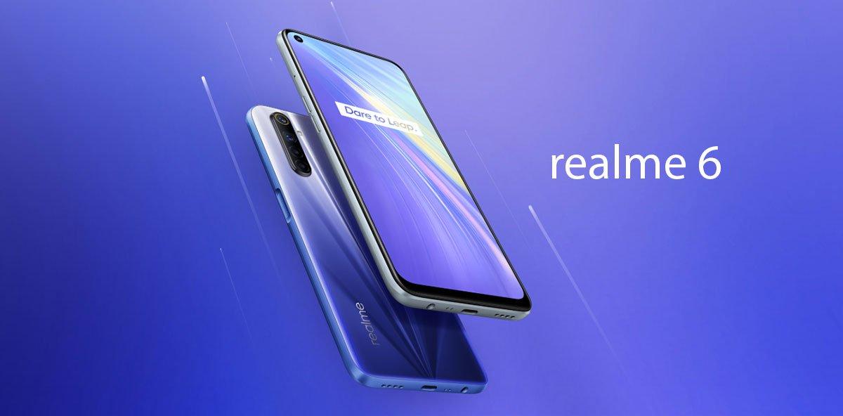 Смартфон Realme 6 1
