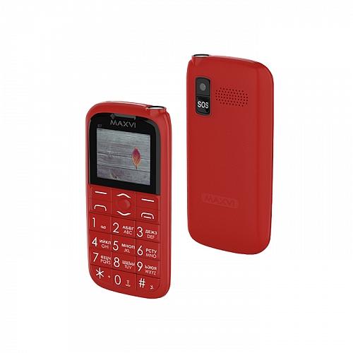 Мобильный телефон MAXVI B7 Red 1