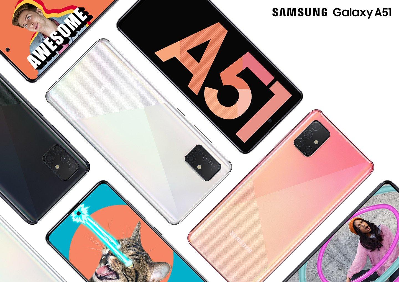 Смартфон Samsung A51 2