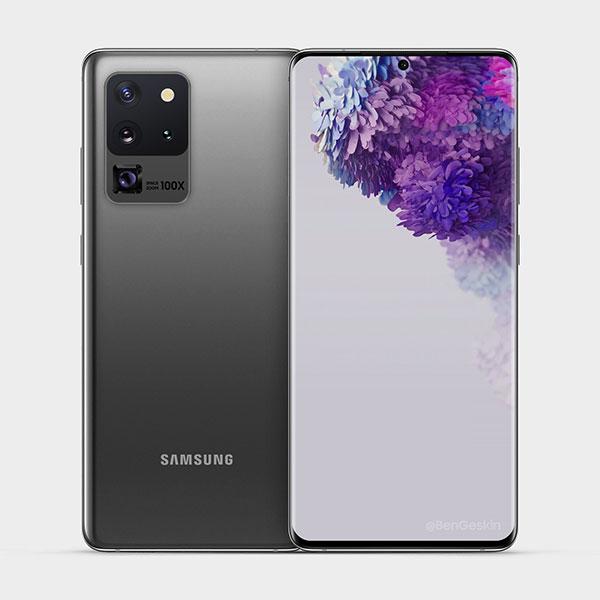 Смартфон Samsung Galaxy S20 Ultra (G988F ZKD DS 12/128GB) 1