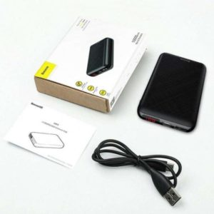 Внешний аккумулятор Baseus Mini S PD Edition 10000mAh (Black) PPALL-XF01