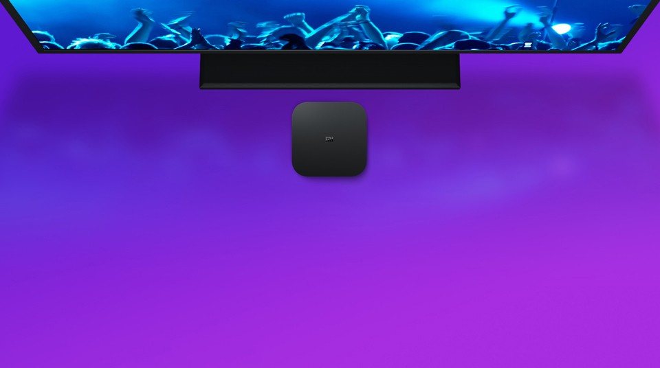 TV-Приставка Xiaomi Mi Box S International Edition звук