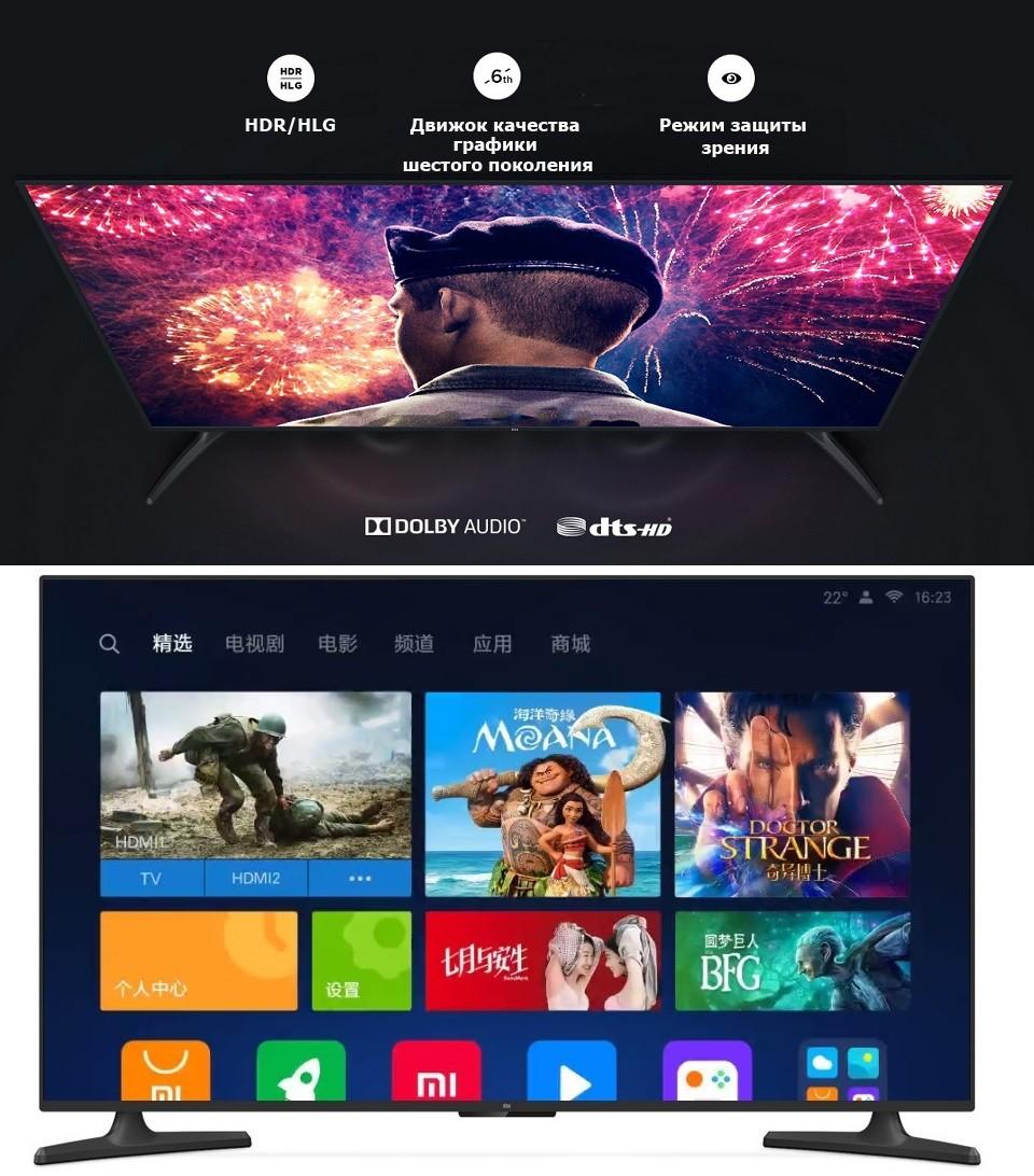Телевизор Xiaomi Mi TV 4A 43 PatchWall