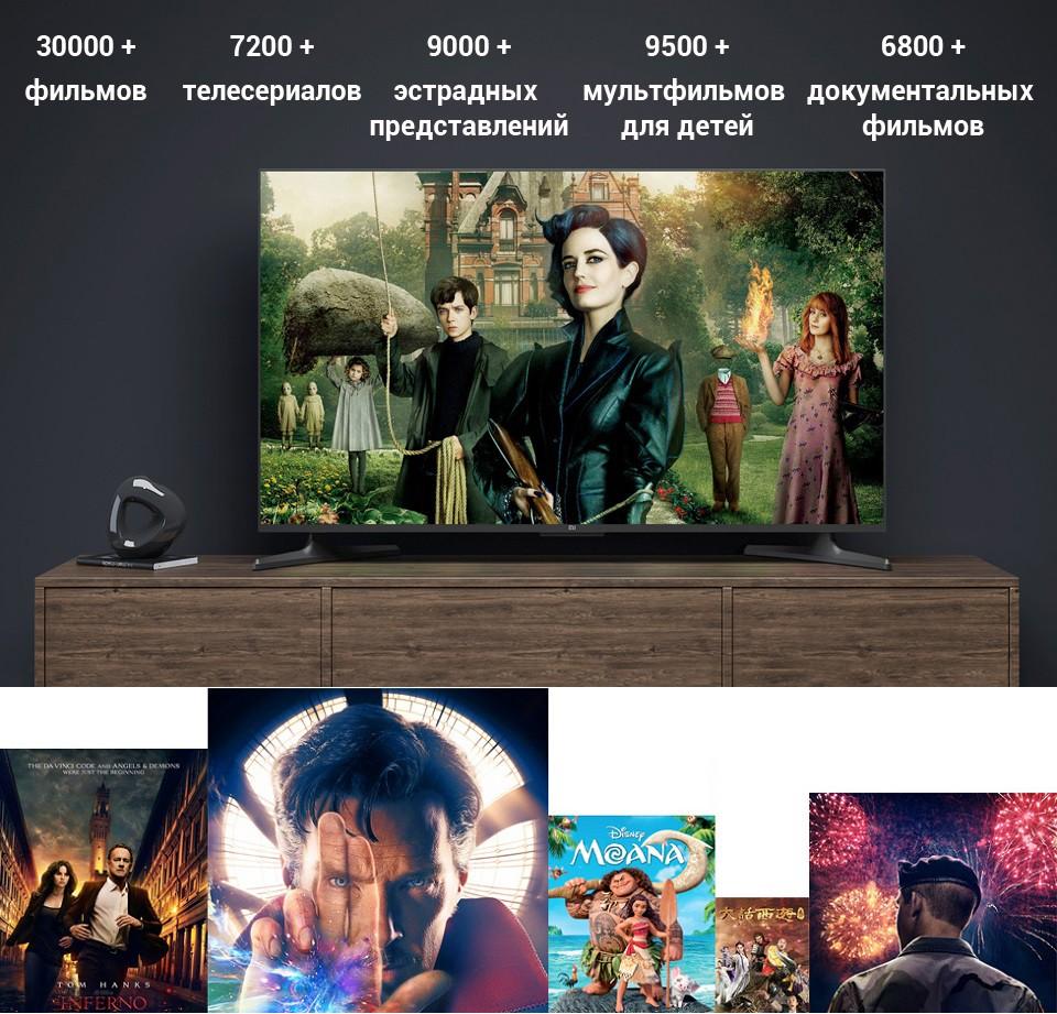 Телевизор Xiaomi Mi TV 4A 43 контент