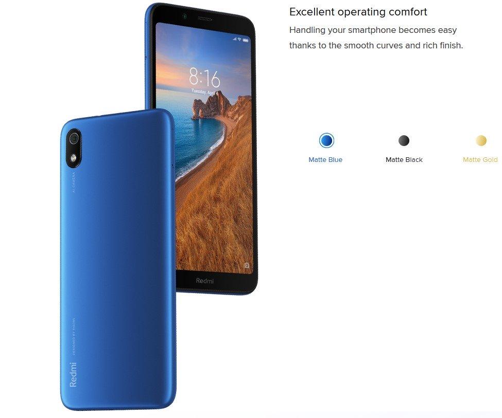 Смартфон  Xiaomi Redmi 7A 12