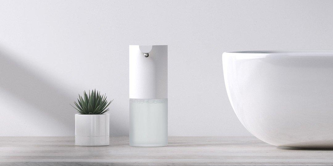 Автоматический дозатор для мыла Xiaomi Mijia Automatic Foam Soap Dispenser 1