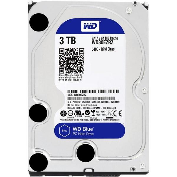 """Жесткий диск 3.5"""" 3Тб WD Blue (WD30EZRZ) 1"""