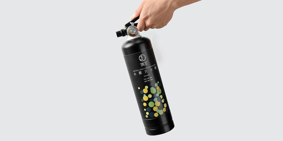 Огнетушитель Xiaomi Water Fire Extinguisher 950ml (черный)