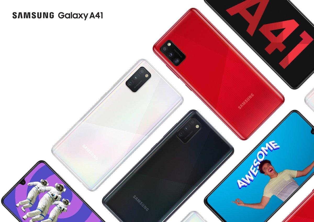 Смартфон Samsung Galaxy A41 1