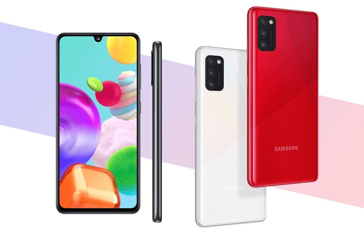 Смартфон Samsung Galaxy A41 3