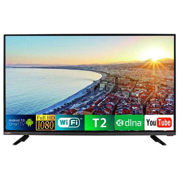 Телевизор BRAVIS LED-43D5000 Smart + T2 1