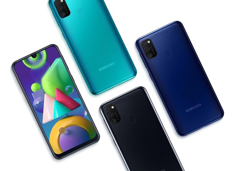 Смартфон Samsung Galaxy M21 2