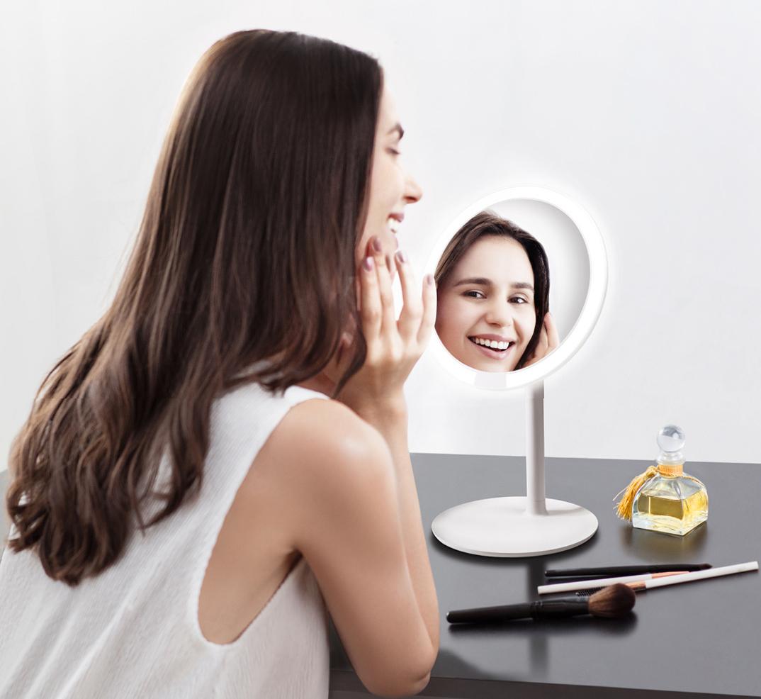 Зеркало для макияжа Xiaomi AMIRO LUX AML004W White 2