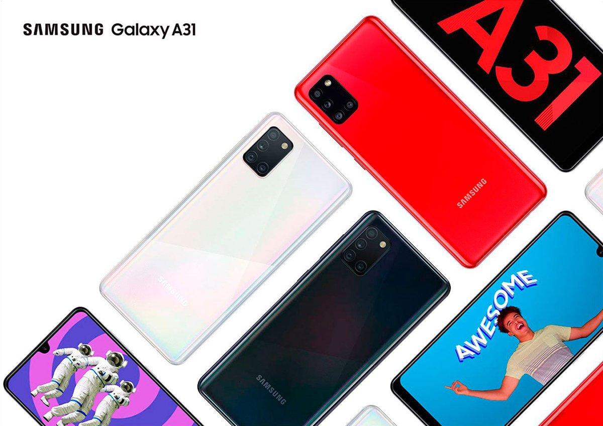 Смартфон Samsung Galaxy A31 2020 A315F 2