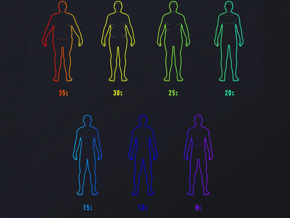 Весы Xiaomi Smart Scale 2 процент содержания жировой ткани в организме