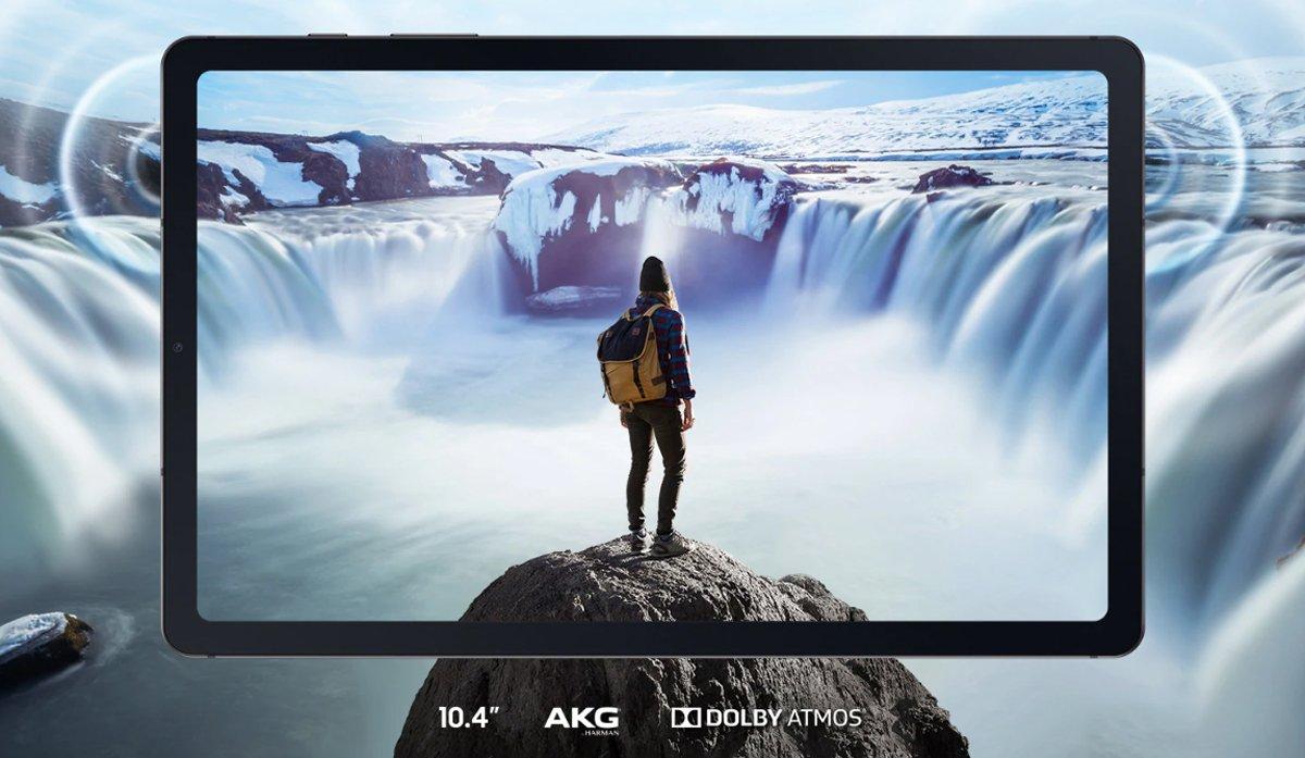 Планшет Galaxy Tab S6 Lite SAMSUNG SM-P615, 64GB rose (розовый) 6