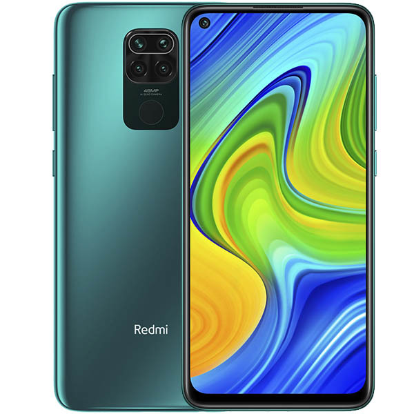 Смартфон Xiaomi Redmi Note 9 3/64GB NFC Green EU (Global Version)