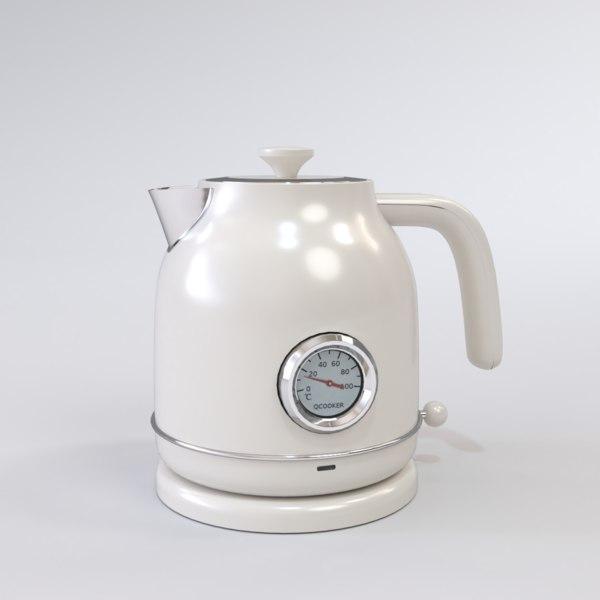 Чайник с Датчиком Температуры Xiaomi Ocooker retro electric kettle White 3015251 1