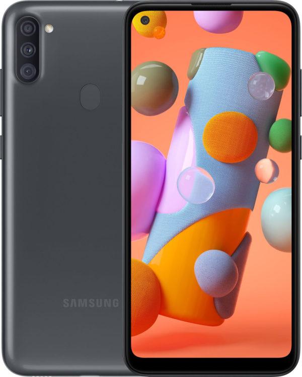 Смартфон Samsung Galaxy A11 Black 1