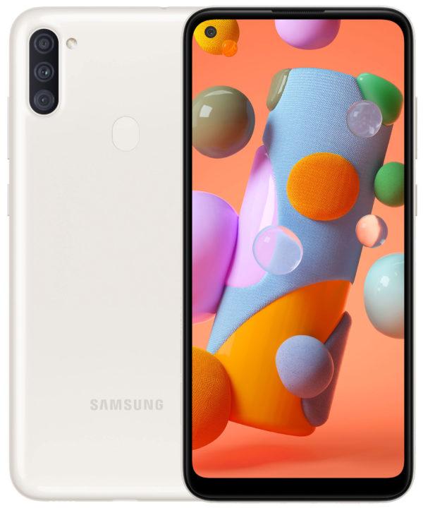 Смартфон Samsung Galaxy A11 2020 A115F White (SM-A115FZWNSEK)