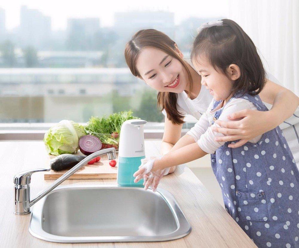Дозатор Xiaomi Xiaoji Auto Foaming Hand Wash 8