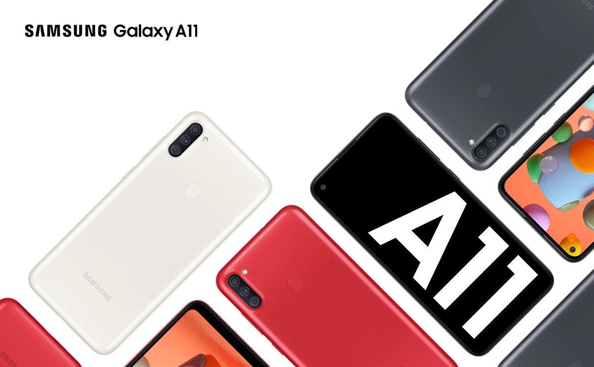 Смартфон Samsung Galaxy A11 2020 A115F White (SM-A115FZWNSEK) 1