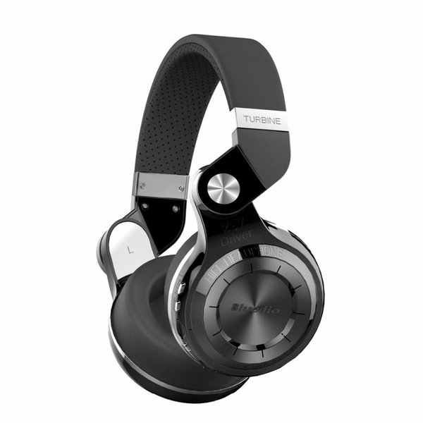 Bluetooth наушники Bluedio T2+ Black 4