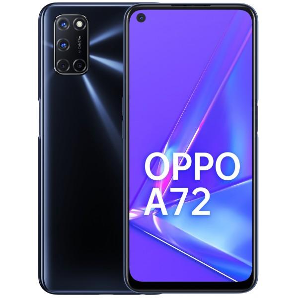 Смартфон OPPO A72 Черный