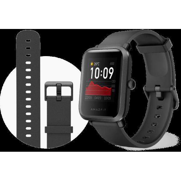 Смарт-часы Amazfit Bip S Lite (Carbon Black) 1