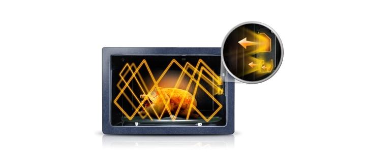 Микроволновая печь Samsung ME83KRW-2/BW 3