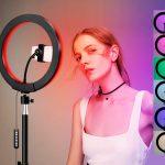 Кольцевая лампа = Фото и видео студийного качества 2