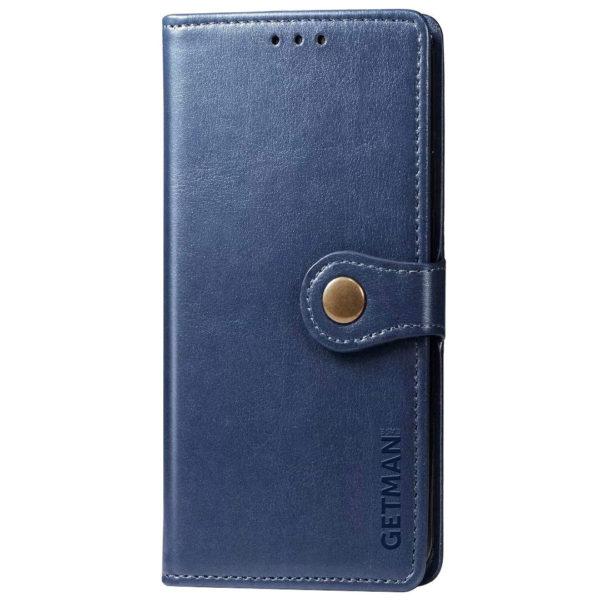 Кожаный чехол книжка GETMAN Gallant (PU) для Xiaomi Poco X3 NFC / Poco X3 Pro 1