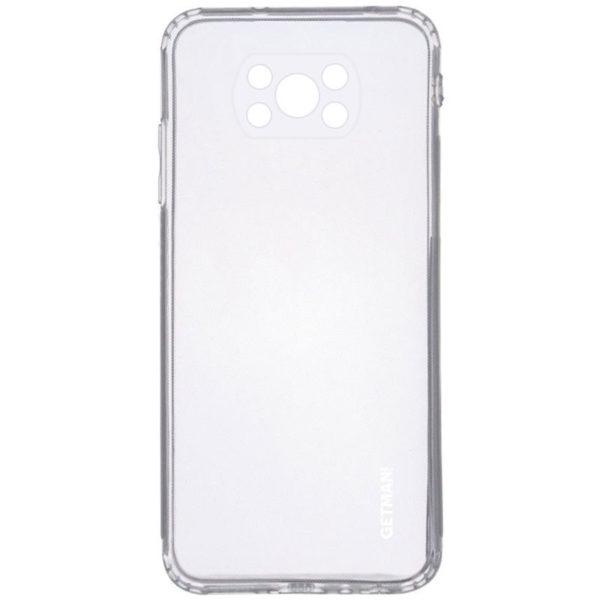 TPU чехол GETMAN Clear 1,0 mm для Xiaomi Poco X3 NFC / Poco X3 Pro 1