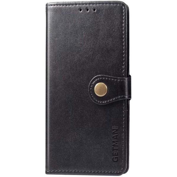 Кожаный чехол книжка GETMAN Gallant (PU) для Xiaomi Redmi Note 10 / Note 10s 1