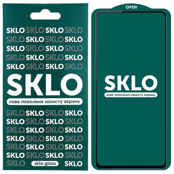 Защитное стекло SKLO 5D (full glue) для Xiaomi Redmi Note 10 / Note 10s 1