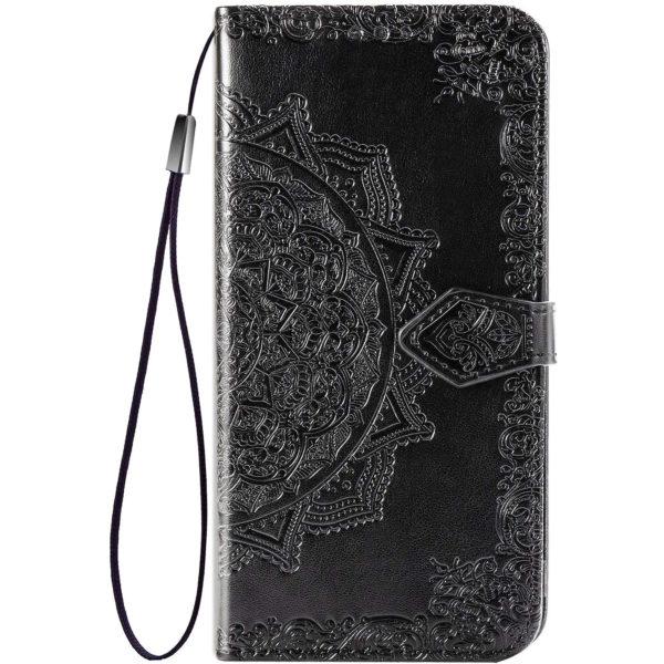 Кожаный чехол (книжка) Art Case с визитницей для Xiaomi Redmi Note 10 / Note 10s 1