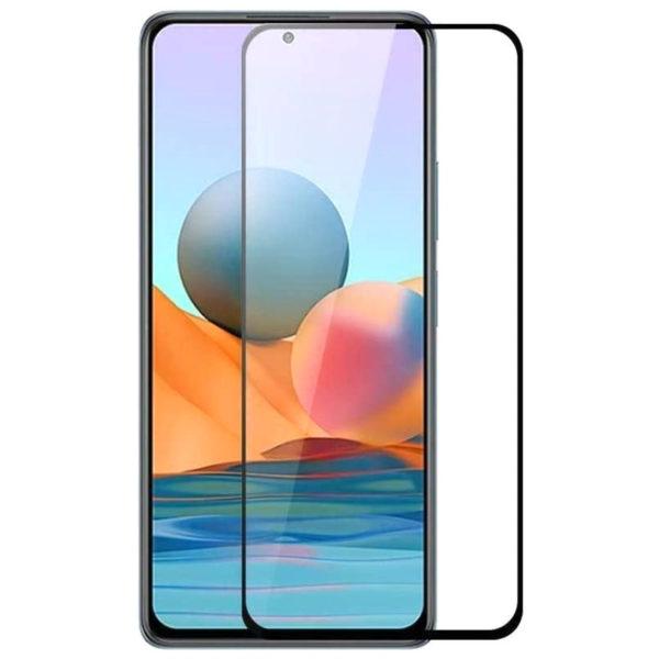 Защитное стекло XD+ (full glue) (тех.пак) для Xiaomi Redmi Note 10 / Note 10 5G/Note 10s/Poco M3 Pro 1